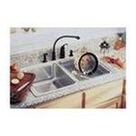 Elkay -  Lustertone Gourmet 33 x 22 Same Size Double Bowl Sink Set - Hole Configuration: Four 0094902039206