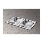 Elkay -  Pacemaker Gourmet 33 x 22 Stainless Steel Double Sink Set - Hole Configuration: Three 0094902044583