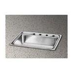 Elkay -  Packemaker Gourmet 25 x 21 Single Bowl Sink Set 0094902044668