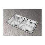 Elkay -  Elkay Kitchen Sink - 2 Bowl Pacemaker PSR43223 0094902044972