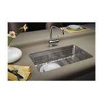 Elkay -  Lustertone 28 x 16 Undermount Single Bowl Sink Set - Bowl Depth: 7.5 0094902166223