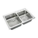 Elkay -  Elkay Kitchen Sink - 2 Bowl Lustertone LRAD250601 0094902176949