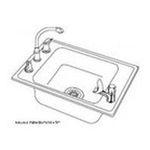 Elkay -  DRKAD222055L4 Lustertone Single Bowl Classroom Sink With 4 0094902177809