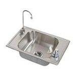 Elkay -  CDKR2517VRC Celebrity Classroom Package All Kitchen Sink: Stainless 0094902228884