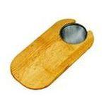 Elkay -  16 x 8 Hardwood Cutting Board with Strainer 0094902256399