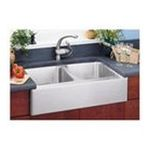 Elkay -  Lustertone Undermount Apron Front Double Bowl Sink With Reveal in Stainless Steel 0094902288956