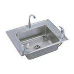 Elkay -  DRKR2822RC Lustertone Triple Ledge Classroom Package Commercial Sink: Stainless 0094902289427