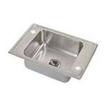 Elkay -  DRKRQ22204  Lustertone Lustrous Satin Utility Sink 18 Guage 18-8 Stainless Steel Top Mount 1 Basin Rectangular With 4 0094902321431