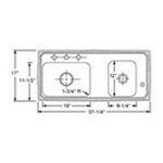 Elkay -  DRKADQ371760R4 Lustertone Classroom Sink: Stainless 0094902339214