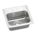 Elkay -  Elkay Kitchen Sink - 1 Bowl Lustertone LR1716MR2 0094902346557
