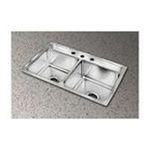 Elkay -  Elkay Kitchen Sink - 2 Bowl Lustertone LRQ2519MR2 0094902363257