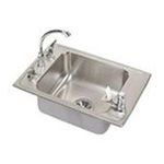 Elkay -  DRKADQ222055C Lustertone Double Ledge Classroom Package Commercial Sink: Stainless 0094902364407