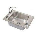 Elkay -  Lustertone Single Bowl Classroom Sink: Stainless 0094902364452