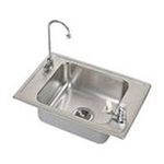 Elkay -  PSDKRQ2517C Pacemaker Single Bowl Classroom Package Commercial Sink: Stainless 0094902364544