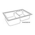 Elkay -  Elkay Kitchen Sink - 2 Bowl Elumina EG25010R1 0094902378275