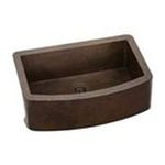 Elkay -  Gourmet Copper Single Bowl Undermount Apron Sink 0094902424712