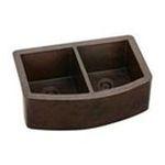 Elkay -  Gourmet Copper Two Bowl Undermount Apron Kitchen Sink 0094902424750