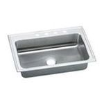 Elkay -  PODS33225 Pursuit Stainless Steel 33 x 22 Undermount Single Basin Kitchen Sink with 7-3/8 Depth: Stainless 0094902435633