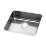 Elkay -  ELUH211510BLS Gourmet Statement 18-1/4 Undermount Single Bowl Stainless Steel Sink: Blossom 0094902452968