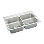 Elkay -  LR3322MR2BNCORSU Gourmet Lustertone Sink: Stainless 0094902616834