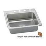 Elkay -  LR25221BNCORSU Gourmet Lustertone Stainless Steel 25 x 22 Single Bowl Kitchen Sink with Oregon State University 0094902616896