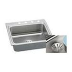 Elkay -  DLR252210PD5 Gourmet Perfect Drain Sink: Stainless 0094902760506