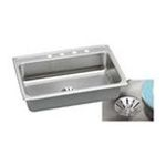 Elkay -  LR3122PD3 Gourmet Perfect Drain Sink: Stainless 0094902762135