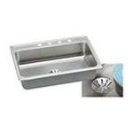 Elkay -  LR3122PDMR2 Gourmet Perfect Drain Sink: Stainless 0094902762166