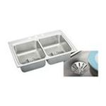 Elkay -  LR3322PD4 Gourmet Perfect Drain Sink: Stainless 0094902762388