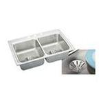 Elkay -  LR3322PDMR2 Gourmet Perfect Drain Sink: Stainless 0094902762401