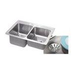 Elkay -  STLR3322LPD1 Gourmet Perfect Drain Sink: Stainless 0094902762517