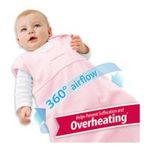 Georgia Peach Products -  BreathableBaby   Breathablebaby Body-Breathe Wearable Blanket, Pink, Small 0094922010285