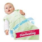 Georgia Peach Products -  BreathableBaby   Breathablebaby Body-Breathe Wearable Blanket, Kiwi, Small 0094922010308