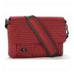Georgia Peach Products -  Expand-It Small 13 Laptop Messenger Bag in Red Plaid 0094922550422