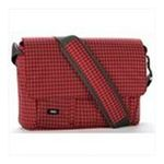 Georgia Peach Products -  Expand-It Medium 15 Laptop Messenger Bag in Red Plaid 0094922550460