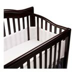Georgia Peach Products -  BreathableBaby   BreathableBaby Breathable Mesh Crib Liner, White 0094922799647
