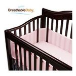 Georgia Peach Products -  BreathableBaby   BreathableBaby Breathable Mesh Crib Liner, Light Pink 0094922799678