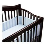 Georgia Peach Products -  BreathableBaby   BreathableBaby Breathable Mesh Crib Liner, Blue 0094922799685