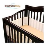 Georgia Peach Products -  BreathableBaby   BreathableBaby Breathable Safer Bumper, Fits All Cribs, Ecru 0094922799708