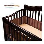 Georgia Peach Products -  BreathableBaby   BreathableBaby Breathable Safer Bumper, Fits All Cribs, Brown 0094922799746