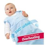 Georgia Peach Products -  BreathableBaby   Breathablebaby Body-Breathe Wearable Blanket, Blue, Small 0094922822376