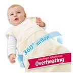 Georgia Peach Products -  BreathableBaby   Breathablebaby Body-Breathe Wearable Blanket, Ecru, Small 0094922848161