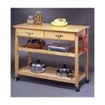 DMI Furniture, Inc. -  Solid Wood Top Kitchen Island Cart 0095385038076