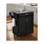 DMI Furniture, Inc. -  Cuisine Cart Black Finish SP Granite Top 0095385065300