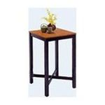 DMI Furniture, Inc. -  Bar Table Black with Oak Finish Veneer Top 0095385068936