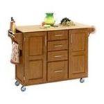 DMI Furniture, Inc. -  Oak Kitchen Island with Wood Top 0095385716103