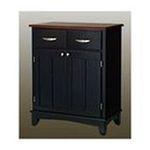 DMI Furniture, Inc. -  Black Base and Cherry Wood Top Buffet 0095385735418