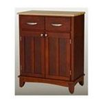 DMI Furniture, Inc. -  Cherry Base and Natural Wood Top Buffet 0095385735593