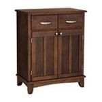DMI Furniture, Inc. -  Medium Cherry Buffet with Wood Top 0095385735623
