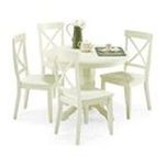DMI Furniture, Inc. -  Home Styles White 5-piece Dining Furniture Set 0095385744632